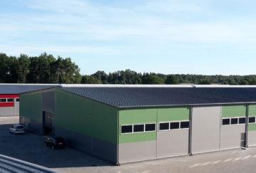 Tootmiskompleks Pumac, Liepaja, Läti
